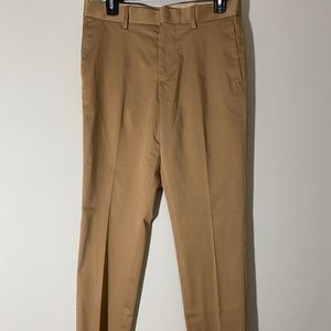 H&M 30R Khaki Skinny Fit Dress Pants